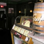 Even a juke box and an old Grandpa Graf's Keg