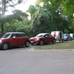 At our Memphis area campground with our other fellow campers.