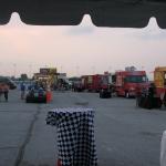 The food trucks.