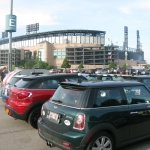 Taking in a White Sox game...