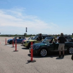 At the Autocross.