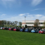 MINIs from all over Illinois and Wisconsin meet at the Jelly Belly factory for our annual spring drive.