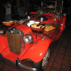 The \'49 MG Salad Car.