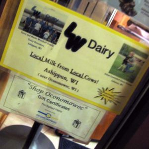 Gelato - made from local cows!