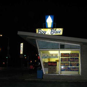 Boy Blue at Night.