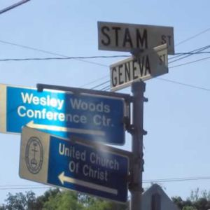 It's Stam St. for our friends, the Stams.