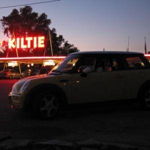 Bessie illuminated by The Kiltie.