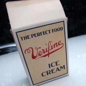 I also picked up this vintage ice cream box. Score!