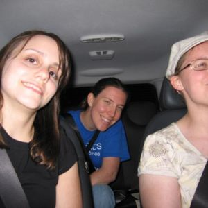 Flash photos in the car on a busy highway? Not my idea!