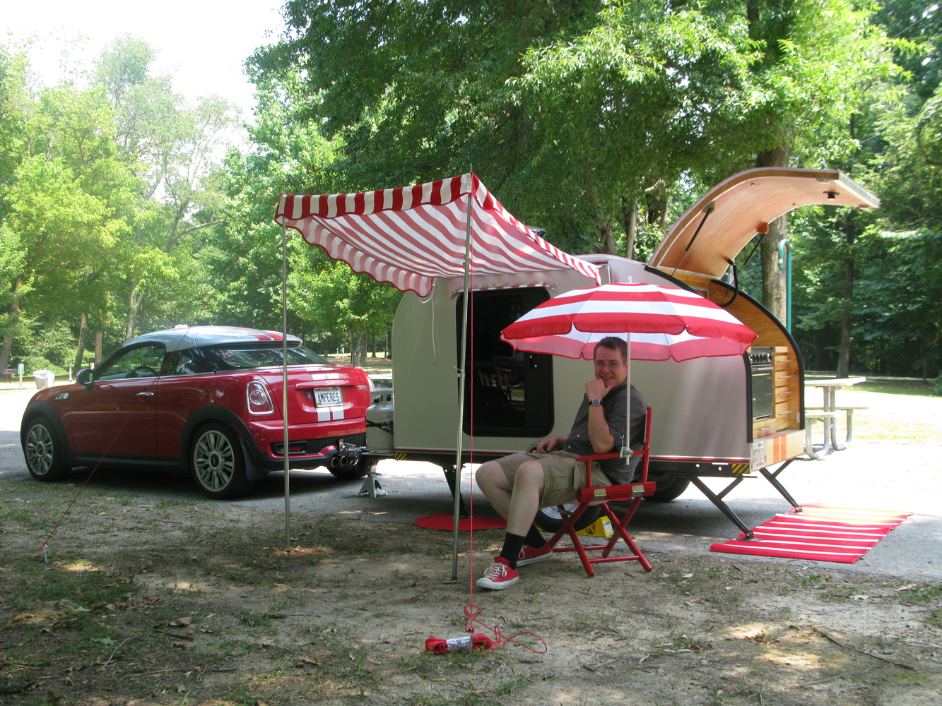 MINI + Teardrop Camper – The Adventures of Bessie the MINI